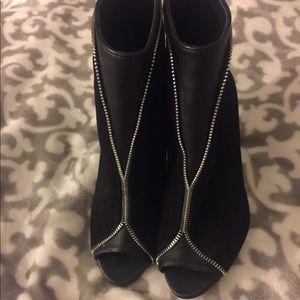 Victoria Secret Black Booties